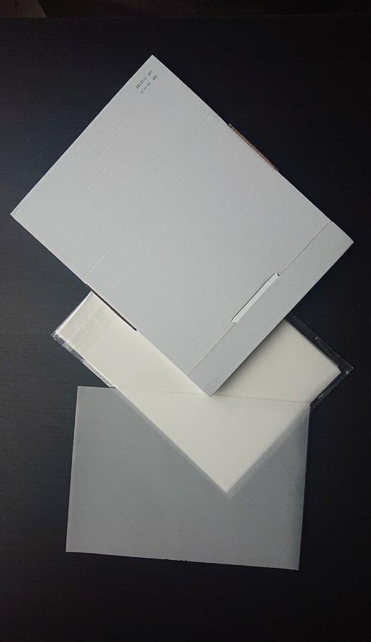 Papīrs šokolādes dekorēšanai, A4, 25 gab/iepakojums