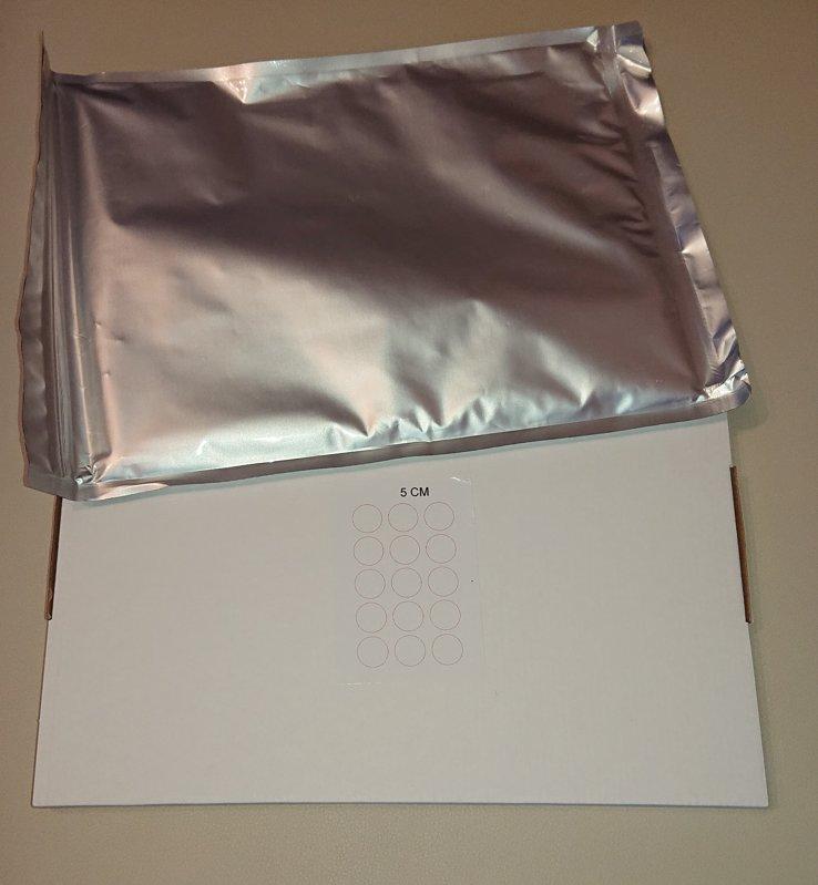 Сахарная бумага, 15 x Ø5cm, 24 штуки