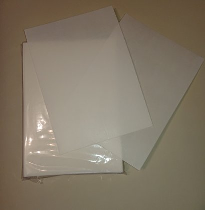 Waffle paper, 1 piece