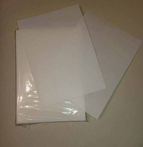 Thin waffer paper, 0,35 mm, A4, 1 piece